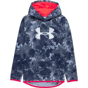 Under Armour Novelty Armour Fleece Big Logo Hoodie - Girls'