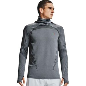 Under Armour Rush Coldgear Seamless Hooded Top - Mens