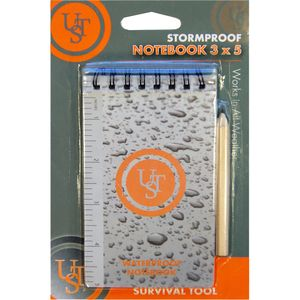 Ultimate Survival Technologies Waterproof Notebook 3x5
