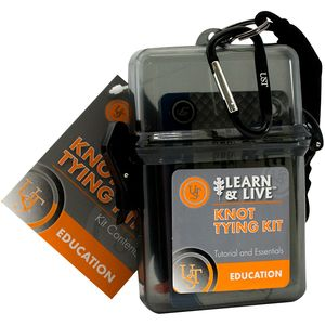 Ultimate Survival Technologies Learn & Live Knot Tying Kit