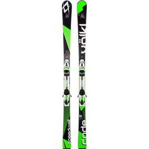 Volkl Code Speedwall L UVO Ski with rMotion2 12.0 D Code Green Binding