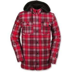 Volcom Field Bonded Flannel Shirt - Long-Sleeve - Men's