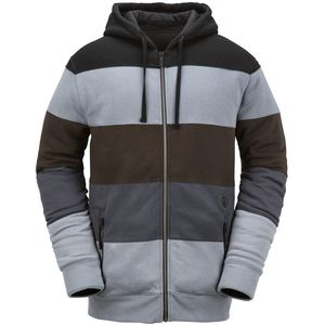 Volcom Staggered Insulated Fleece Hooded Jacket - Men's
