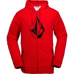 Volcom JLA Stone Fleece Full-Zip Hoodie - Men's