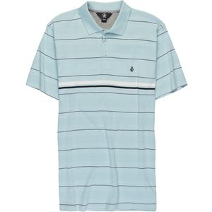 Volcom Wowzer Stripe Polo Shirt - Short-Sleeve - Men's