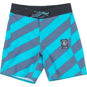 Volcom Stripey Half Stoney Board Short - Toddler Boys'