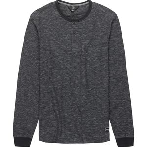 Volcom Moxie Long-Sleeve Henley Shirt - Men's