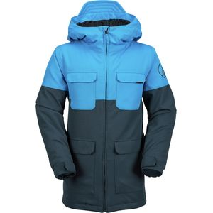 Volcom Blocked Hooded Insulated Jacket - Boys'