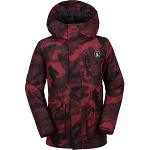 Volcom VS Hooded Insulated Jacket - Boys'