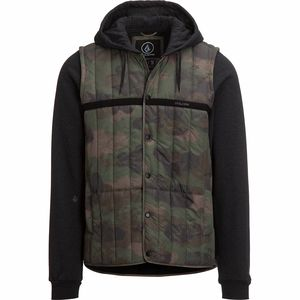 Volcom Stripester Puffer Jacket - Men's