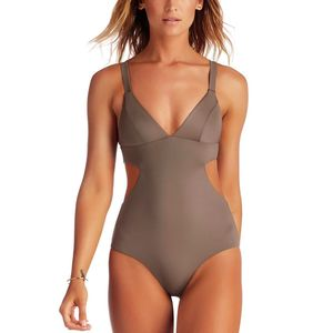 Vitamin A Ava Maillot Full One-Piece Swimsuit - Women's