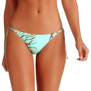 Vitamin A Tara Tie Side Bi Coastal Cut Bikini Bottom - Women's