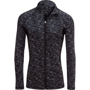 Vogo Activewear Color Block Mesh Jacket - Women's
