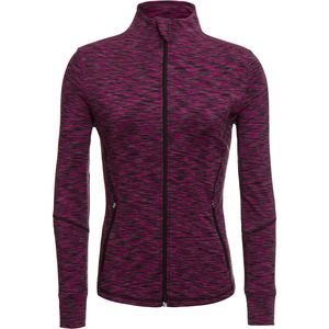 Vogo Activewear Space Dye Full Zip Performance Jacket - Women's
