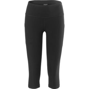Vogo Activewear Performance Capri with Mesh and Side Pocket - Women's