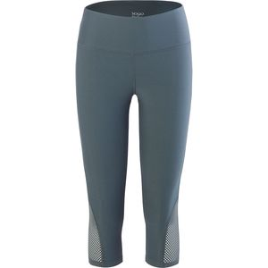 Vogo Activewear Performance Capri with Mesh Inserts - Women's