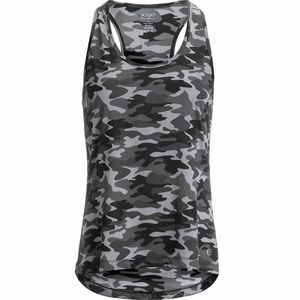 Vogo Activewear Tye-Dye Racerbank Tank Top - Women's