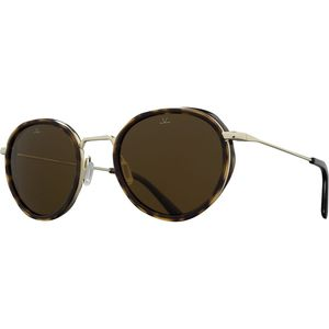 Vuarnet VL1809 Small Round Sunglasses - Polarized