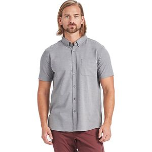 Vuori Bishop Button-Down Short-Sleeve Shirt - Men's