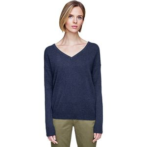 White + Warren Essential V-Neck Sweater - Women's