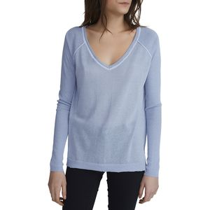 White + Warren Raglan V-Neck - Women's
