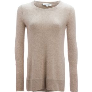 White + Warren Pointelle Crewneck Sweater - Women's