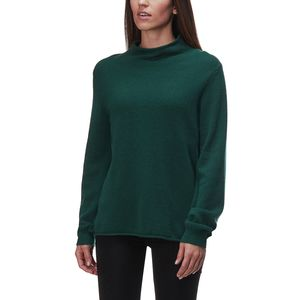 White + Warren Blouson Sleeve Rollneck Sweater - Women's