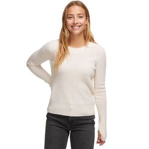 White + Warren Slim Thermal Crewneck Sweater - Women's