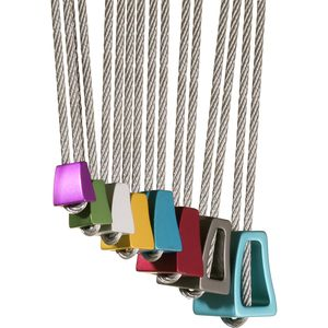 Wild Country Rock Wire Anodized Set