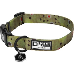 Wolfgang Man & Beast Brown Trout Dog Collar