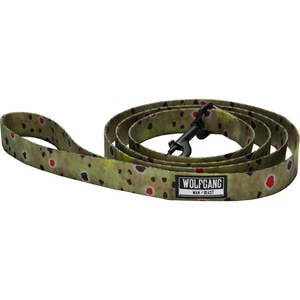 Wolfgang Man & Beast Brown Trout Dog Leash