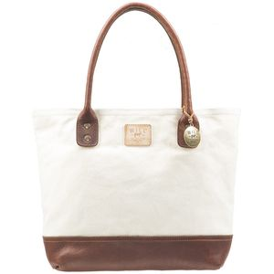 Will Leather Goods Canvas Leather Everyday Tote