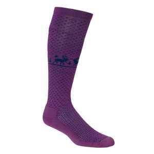 Woolrich Deer Knee HI Socks - Women's