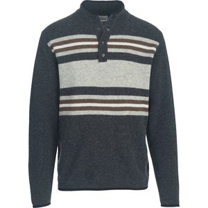 Woolrich Half Snap Blanket Sweater - Men's