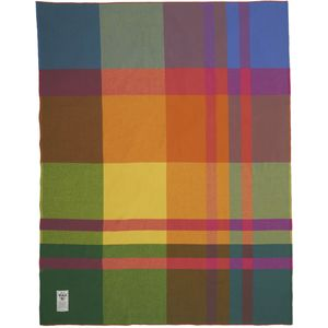 Woolrich Soft Wool Exploded Plaid Blanket