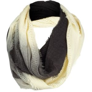 Woolrich Open Check Ombre Eternity Scarf - Women's