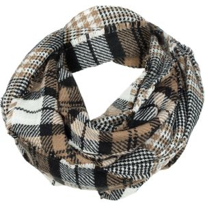 Woolrich Double Plaid Eternity Scarf