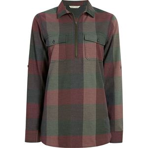 Woolrich Any Point Convertible Flannel Shirt - Women's