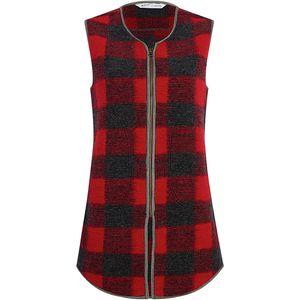 Woolrich Chilly Days Long Fleece Vest - Women's