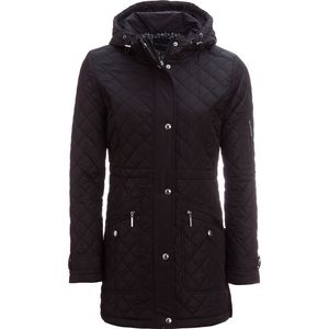 Weatherproof Quilted Hooded Walker Coat - Women's
