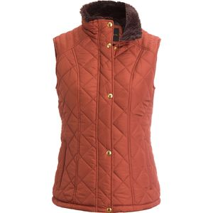 Weatherproof Quilted Faux Fur Vest - Women's