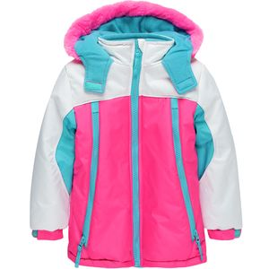 Wippette Color Block Hooded Ski Jacket - Toddler Girls'