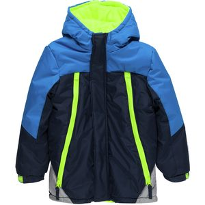 Wippette Color Block Hooded Jacket with Zipper Pockets - Infant Boys'