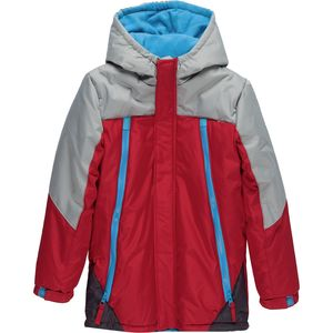 Wippette Color Block Hooded Jacket with Zipper Pockets - Boys'