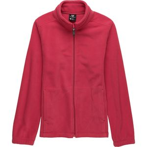 White Sierra Sierra Mountain Fleece Jacket - Girls'