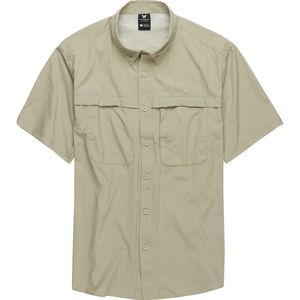 White Sierra Kalgoorlie Cool Touch Short-Sleeve Shirt - Men's