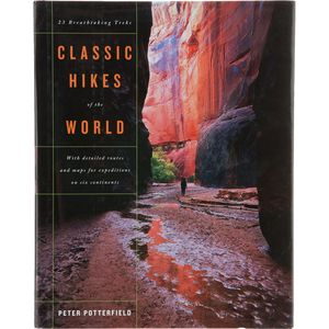 W. W. Norton & Co. Classic Hikes of the World Guide Book Cheap