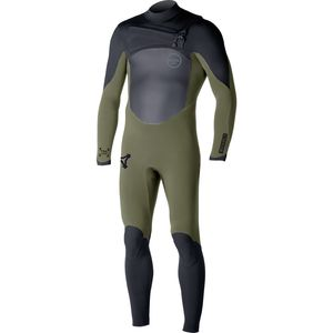 XCEL Hawaii 4/3 Revolt TDC Chest-Zip Full Wetsuit - Men's