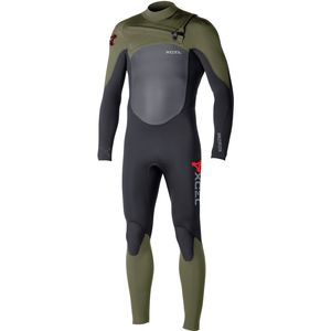 XCEL Hawaii 4/3 Infiniti X2 TDC Chest-Zip Full Wetsuit - Men's