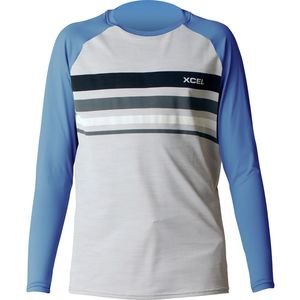XCEL Hawaii Oceanside Long-Sleeve Ventx Rashguard - Boys'